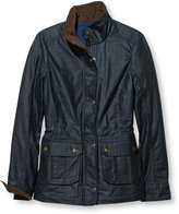 L.L. Bean Town and Field Waxed Cotton Jacket, Plaid