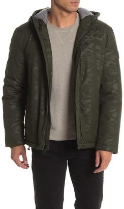 Cole Haan Hooded Long Sleeve Jacket
