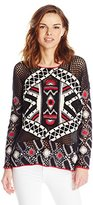 Eleven Paris Women's Nelki Mesh Sweater