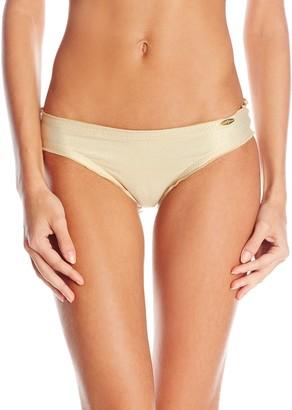 Luli Fama Women's Cosita Buena Ruched-Back Bikini Bottom