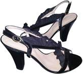 Sonia Rykiel Black Patent leather Sandals