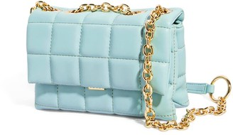 House of Want H.O.W. We Slay Small Shoulder Bag In Ice Blue