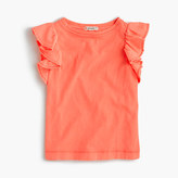 J.Crew Girls' flutter-sleeve tank top