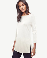 Ann Taylor Boatneck Knit Tunic