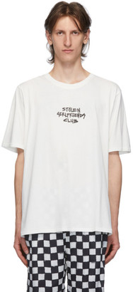 Stolen Girlfriends Club White Techno Punk T-Shirt