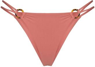 Juillet Emma ring detail bikini bottoms