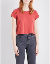 Re/done 1950s Boxy Jersey T-shirt
