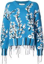 Cédric Charlier cherry blossom sweater