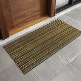 """Crate & Barrel Chilewich ® Multi Thin Stripe 24""""x48"""" Doormat"""