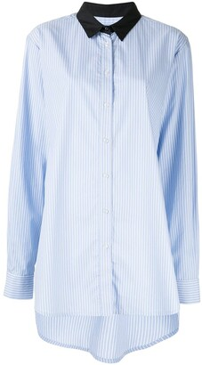 macgraw Truth striped shirt