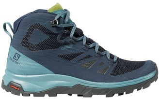 L.L. Bean L.L.Bean Women's Salomon Outline Mid Gore-Tex Hiking Boots