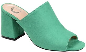Journee Collection Adelaide Slide (Camel) Women's Shoes