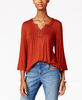 Style&Co. Style & Co. Petite Grommet Swing Top, Only at Macy's