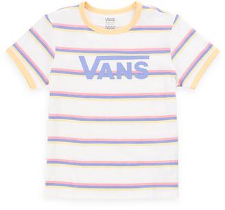 Vans Girls Stevee Stripe Tee