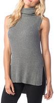 Kensie Ribbed Sleeveless Sweater