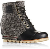 Sorel 1964 Premium Wedge Waterproof Leather and Textile Booties