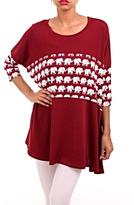 KITTY COUTURE Elephant Accent Tunic
