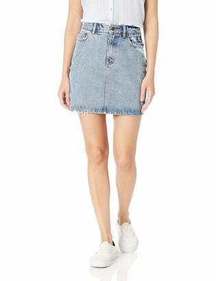 RVCA Junior's JOLT HIGH Rise Pencil Skirt