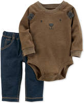 Carter's 2-Pc. Bear Bodysuit & Jeans Set, Baby Boys (0-24 months)