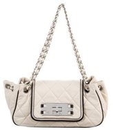 Chanel East West Accordion Flap Bag