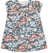 Baby CZ Floral-Print Cotton Dress