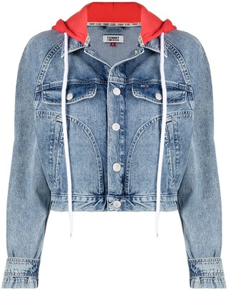 Tommy Jeans Cropped Denim Jacket