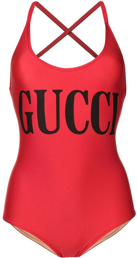 a8c37666 logo printed swimsuit