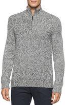 Calvin Klein Cotton-Blend Marled Pullover