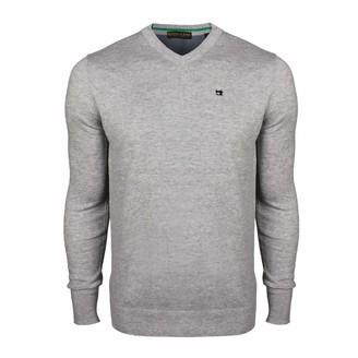 Scotch & Soda Men's Classic V-Neck Pullover in Soft Cotton Quality Vest