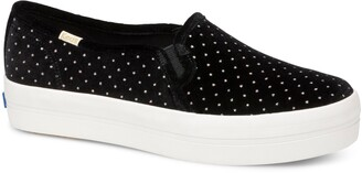 Keds(R) For Kate Spade New York Triple Decker Glitter Slip-On Sneaker