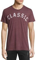 Sol Angeles Classic Graphic Pocket T-Shirt, Maroon