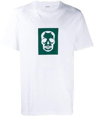 Zadig & Voltaire Zadig&Voltaire Tobias skull block t-shirt
