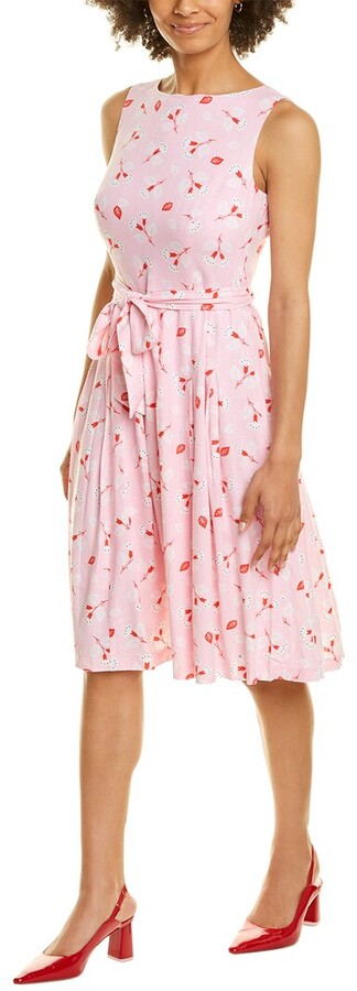 Thumbnail for your product : Anne Klein Linen-Blend A-Line Dress