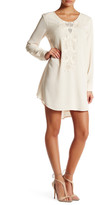 Astr Crochet Trim Shift Dress