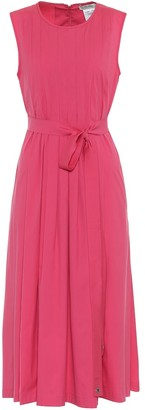 S Max Mara Extra cotton-blend midi dress