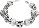 Nuovegioie Tedora Sterling Silver Italian Journey Bracelet