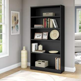 URBAN RESEARCH Highland Dunes Kirkbride 5 Shelf Bookcase with Highland Dunes