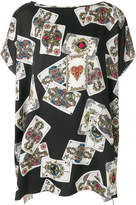 Dolce & Gabbana Playing Cards oversized T-shirt