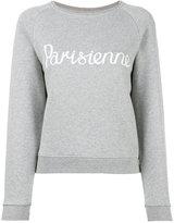 MAISON KITSUNÉ Parisienne sweatshirt - women - Cotton - L