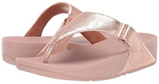 FitFlop Sarna Toe Thong Sandal (Rose Gold) Women's Shoes