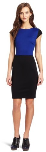 Necessary Objects Juniors Combo Ponte Dress