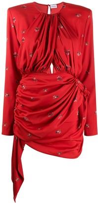 Magda Butrym Sanremo floral mini dress