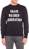 Eleven Paris Brain Washed Generation Fleece Sweatshirt
