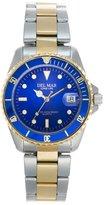 Del Mar Two-Tone Men's Diver's Watch