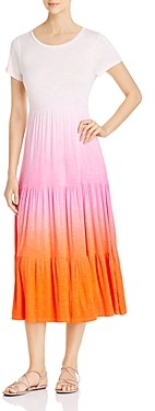 Design History Dip-Dyed Tiered Maxi Dress