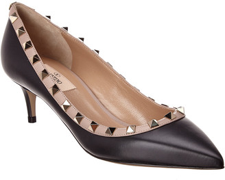 Valentino Rockstud 45 Leather Pump