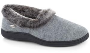 Acorn Women's Chinchilla Collar Slipper Women's Shoes