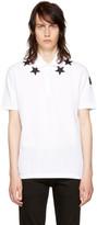 Givenchy White Stars Polo