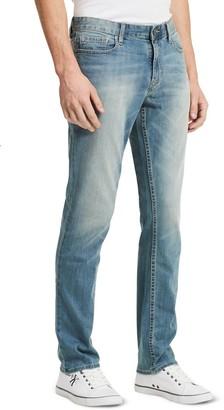 Calvin Klein Jeans Men's Slim Straight Leg Jean in Silver Bullet