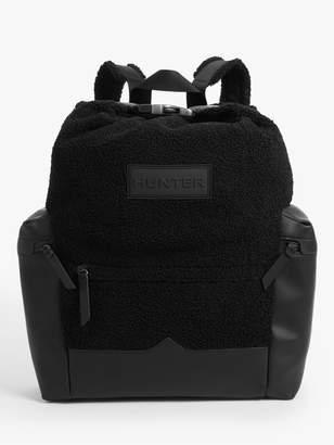 Hunter Sherpa Top Clip Backpack, Black